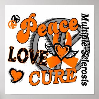 Esclerosis múltiple de la curación 2 del amor de l poster