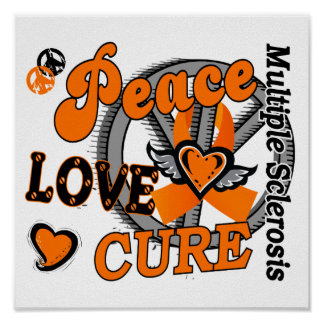 Esclerosis múltiple de la curación 2 del amor de l póster
