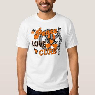 Esclerosis múltiple de la curación 2 del amor de remeras