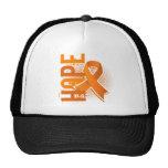 Esclerosis múltiple de la esperanza 2 gorros