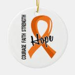 Esclerosis múltiple de la esperanza 5 de la fe del adorno para reyes