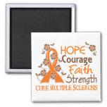 Esclerosis múltiple de la fuerza 3 de la fe del va imán de frigorífico