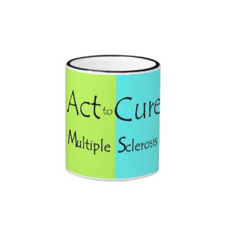 Esclerosis múltiple del ATC Tazas