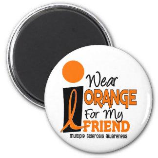 Esclerosis múltiple del ms llevo el naranja para m imán
