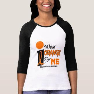Esclerosis múltiple del ms llevo el naranja para M Playera