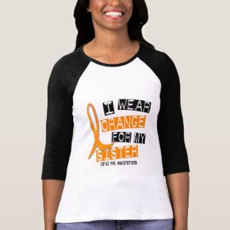 Esclerosis múltiple del ms llevo el naranja para remera