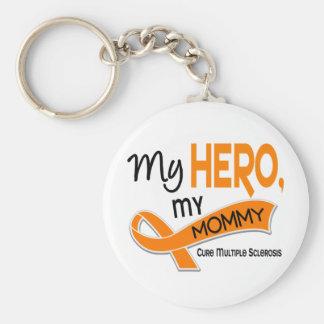 Esclerosis múltiple del ms MI HÉROE MI MAMÁ 42 Llaveros Personalizados