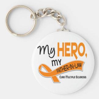 Esclerosis múltiple del ms MI HÉROE MI SUEGRO 42 Llavero Personalizado