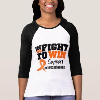 Esclerosis múltiple en la lucha a ganar camisetas