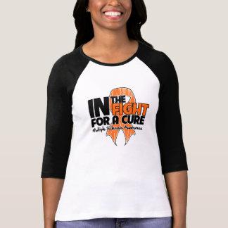 Esclerosis múltiple en la lucha para una curación camisetas
