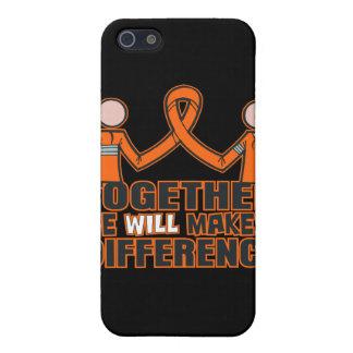 Esclerosis múltiple juntos haremos un Differe iPhone 5 Carcasa