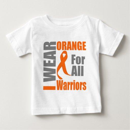 Esclerosis múltiple llevo a guerreros anaranjados playera