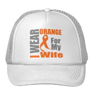 Esclerosis múltiple llevo a la esposa anaranjada d gorras