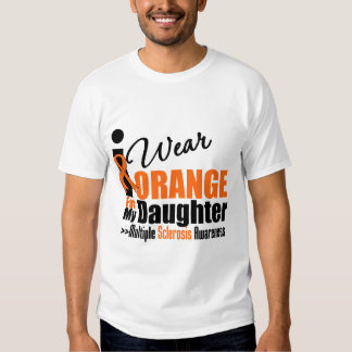 Esclerosis múltiple llevo el naranja para mi hija remeras