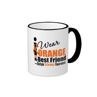 Esclerosis múltiple llevo el naranja para mi mejor tazas