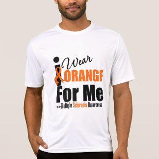 Esclerosis múltiple llevo el naranja para mí playera