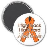 Esclerosis múltiple que me defiendo iman de nevera