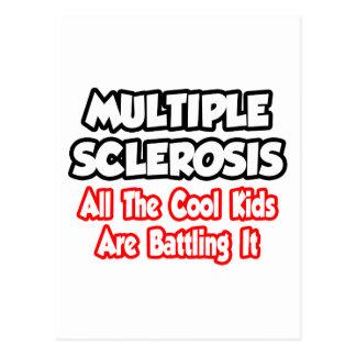 Esclerosis múltiple… todos los niños frescos tarjeta postal