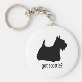 Escocés conseguido Terrier Llavero Personalizado