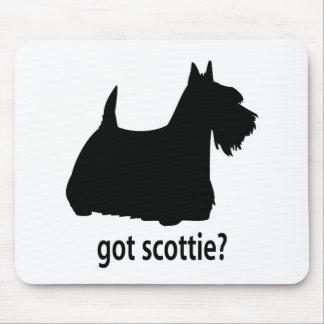 Escocés conseguido Terrier Tapete De Raton