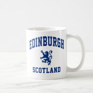 Escocés de Edimburgo Taza Básica Blanca