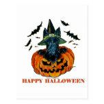 Escocés de Halloween Postales
