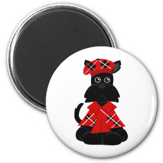 escocés de PeticularFashions.com Imán Redondo 5 Cm