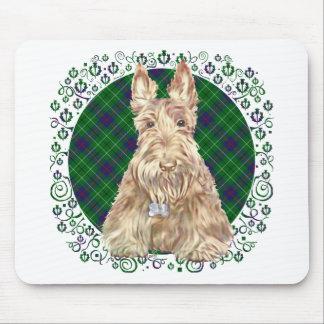 Escocés del tartán de Duncan Alfombrillas De Ratón