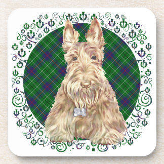 Escocés del tartán de Duncan Posavasos De Bebida