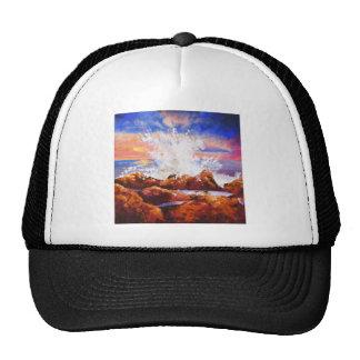 Escocés en las rocas - copia gorras de camionero
