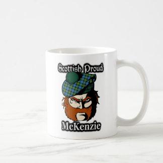 Escocés escocés del tartán de McKenzie del clan Taza