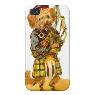 Escocés escocés iPhone 4/4S carcasa
