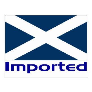 Escocés importado tarjeta postal