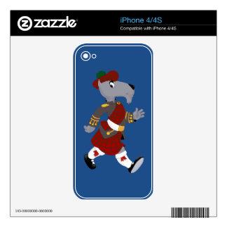 Escocés iPhone 4 Skins