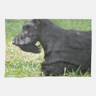 Escocés lindo Terrier Toallas De Mano