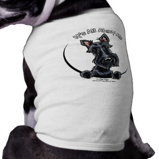Escocés negro IAAM Playera Sin Mangas Para Perro