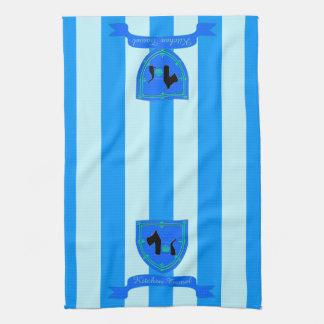 Escocés ninguna corona real 8 toallas