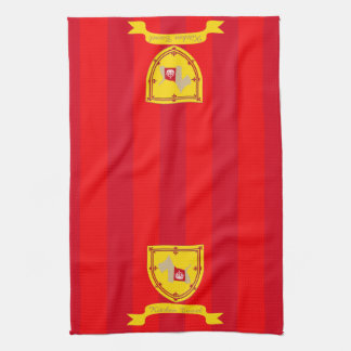 Escocés ninguna corona real de trigo 8 toallas