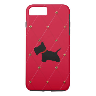 Escocés ningunos 8 diamantes rojos funda iPhone 7 plus
