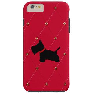 Escocés ningunos 8 diamantes rojos funda resistente iPhone 6 plus