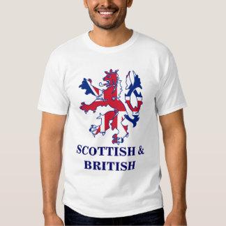 Escocés patriótico y Brtish Poleras