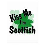 escocés tarjeta postal
