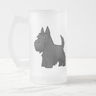 Escocés Terrier del dibujo animado Taza De Café