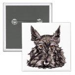 Escocés Terrier en negro Pin