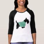 Escocés Terrier en un suéter Camiseta