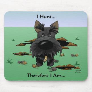 Escocés Terrier (escoceses) que cazo… Mousepad