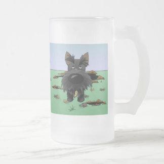 Escocés Terrier (escoceses) que cazo… Taza