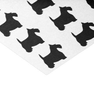 Escocés Terrier Papel De Seda Pequeño