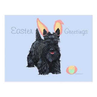 Escocés Terrier Pascua Postales