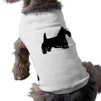 Escocés Terrier Playera Sin Mangas Para Perro